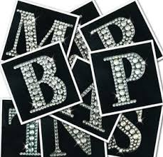 rhinestone letter stickers rhinestone letter stickers empat sticker