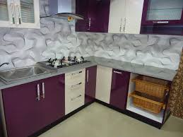 kitchen islands l shaped modular kitchen adding purple cabinet