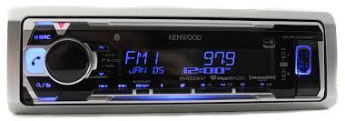 kenwood home theater receiver kenwood kmr m315bt marine single din in dash marine cd receiver