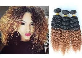 ombre hair extensions cheap 5a remy peruvian hair afro curly ombre hair