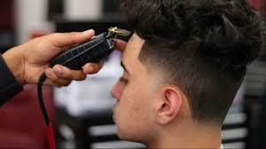 haircut tutorial ronnie banks taper fade curly top crispy