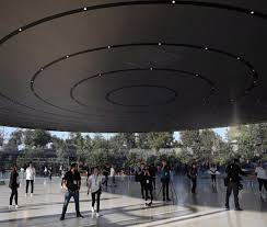 inside apple park apple u0027s u0027spaceship u0027 campus