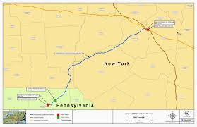 Delaware County Map Billhustonblog Constitution Pipeline Final Route Critical