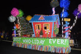 christmas light parade floats ctms to march in torch light parade the children s tree montessori