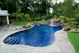 pools with waterfalls swimming pool designs with waterfalls lovely office remodelling a