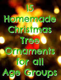 How To Make Homemade Ornaments by 15 Homemade Christmas Tree Ornaments Red Ted Art U0027s Blog