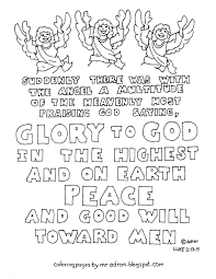 coloring pages for kids by mr adron printable christmas bible