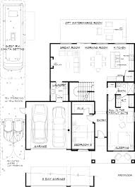3 Bay Garage Plans by Foxfire Ranch Home Community Victorville California