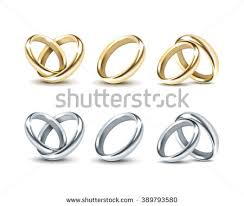 and silver wedding wedding rings stock images royalty free images vectors