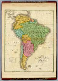 World Map Of South America by Map Of South America David Rumsey Historical Map Collection
