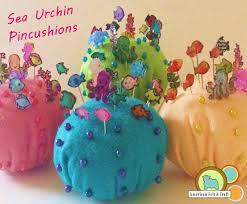 Making Pin Cushions Felt Sea Urchin Pincushions And Sea Life Pins American Felt