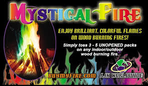 amazon com mystical fire adds colorful flames to a campfire