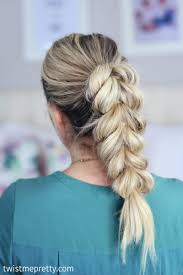 cute hairstyles pull through braid pull through braids are all the rage come see three cute ways to