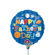 fathers day balloons 9 inch happy s day sports foil balloon