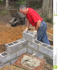 Concrete Block Building Plans How To Build A Stucco Wall Outside Cinder Block Foundation Cost