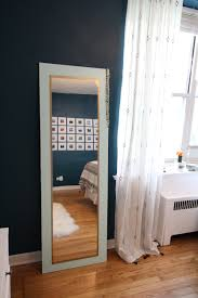 Bevelled Floor Mirror by Design Evolving Anthro Hack Diy Floor Mirror Designevolving Com