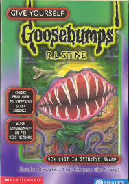 goosebumps world lost in stinkeye swamp