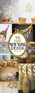 new years party decor 10 easy new years decorating ideas sohosonnet creative living