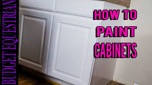 Paint Your Kitchen Cabinets How To Paint Your Kitchen Cabinets Diy Youtube