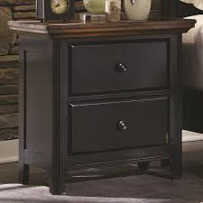 Distressed Black Bedroom Furniture by Black Wood Nightstand Steal A Sofa Furniture Outlet Los Angeles Ca