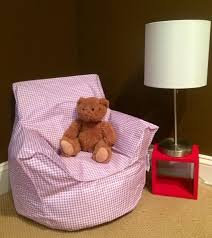 pink toddler bean bag chair klommer