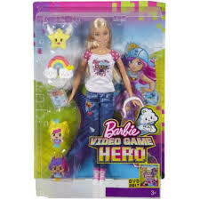 barbie volkswagen video game hero doll dtv96