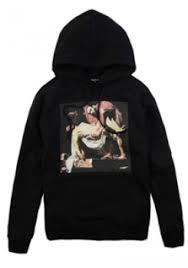 pyrex clothing vision jesus hoodie black pyrex vision hoodie 48 00