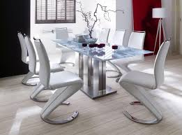 modern white dining room table dining room modern dining room sets with glass top dining table