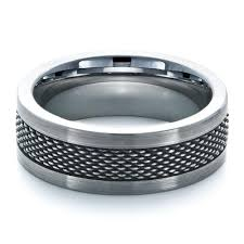 stainless steel rings for men men s tungsten and stainless steel ring 1335