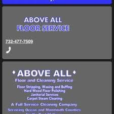 above all floor service carpet cleaning brick nj phone