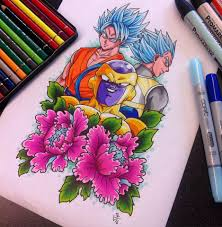 dbz resurrection u0027f u0027 tattoo design by hamdoggz on deviantart