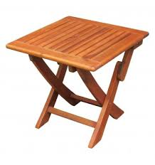 Folding Side Table Outdoor Folding Side Table 53938 Wood You Furniture Nassau
