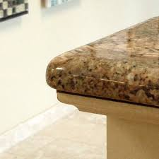countertop edge granite countertop edge treatment options