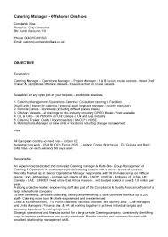 Catering Job Description For Resume by Cv Constantin Ilica Doc 2016