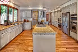forme cuisine énorme u forme armoire de cuisine avec îlot dans armoires de cuisine
