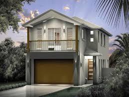 narrow lot houses floor plan home lots garage small plan designs design find