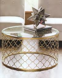 gold and glass coffee table glass and gold coffee table design ideas remodel decoration and