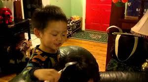 boy hair cut for grandma dustin giving grandma haircut 3 16 2013 youtube