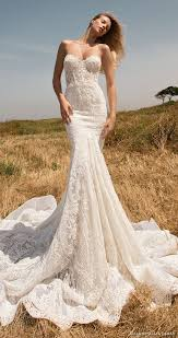 lace mermaid wedding dresses picture of strapless sweetheart lace mermaid wedding dress by glia