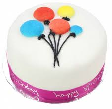 balloon and cake delivery balloon celebration cake for girl send balloon cakes by post
