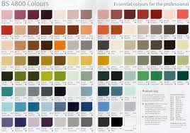 100 paint colour charts uk wood treatments colour chart eco