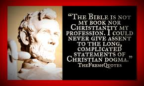 abraham the bible is not my book nor christianity quotes u0026 sayings