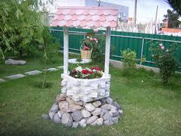 idee fai da te per il giardino idee giardino fai da te il pozzo fioriera ecologico fai da te