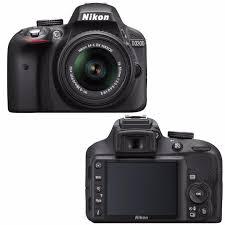 nikon d3300 dslr camera with 18 55mm and 55 300mm lens bundle