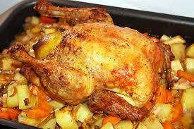 cuisiner poulet entier recette de poulet rôti au citron et à la cannelle
