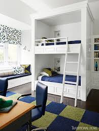 We Love That These Custombuilt Bunk Beds Have A Niche Next To - Next bunk beds