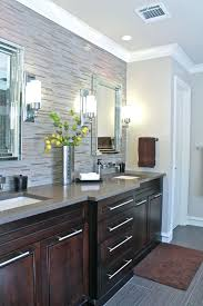 Chrome Bathroom Vanity by Grey Bathroom Vanity Dark Wood Floor Decor Near Chrome Light