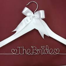 personalized wedding hangers pearl personalized wedding hanger name hanger brides hanger in