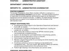 administrative secretary duties resume free resume