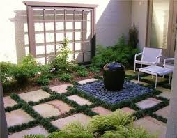 Best 25 Pebble Patio Ideas On Pinterest Landscaping Around by 25 Beautiful Small Courtyard Gardens Ideas On Pinterest Small